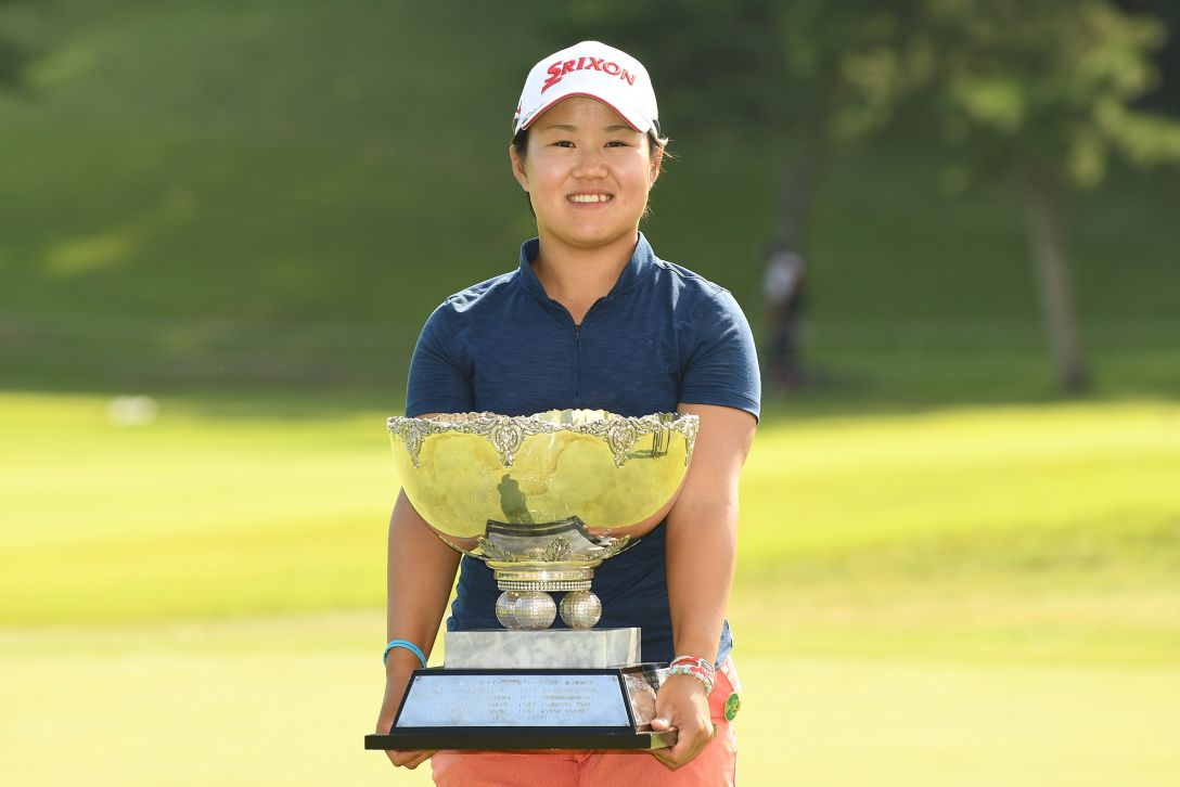 ミヤギテレビ杯ダンロップ女子オープンゴルフトーナメント 最終日 畑岡 奈紗 <Photo:Atsushi Tomura/Getty Images>