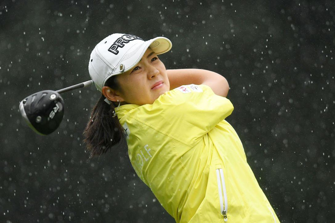日本女子オープンゴルフ選手権競技 1日目 辻梨恵 <Photo:Atsushi Tomura/Getty Images>