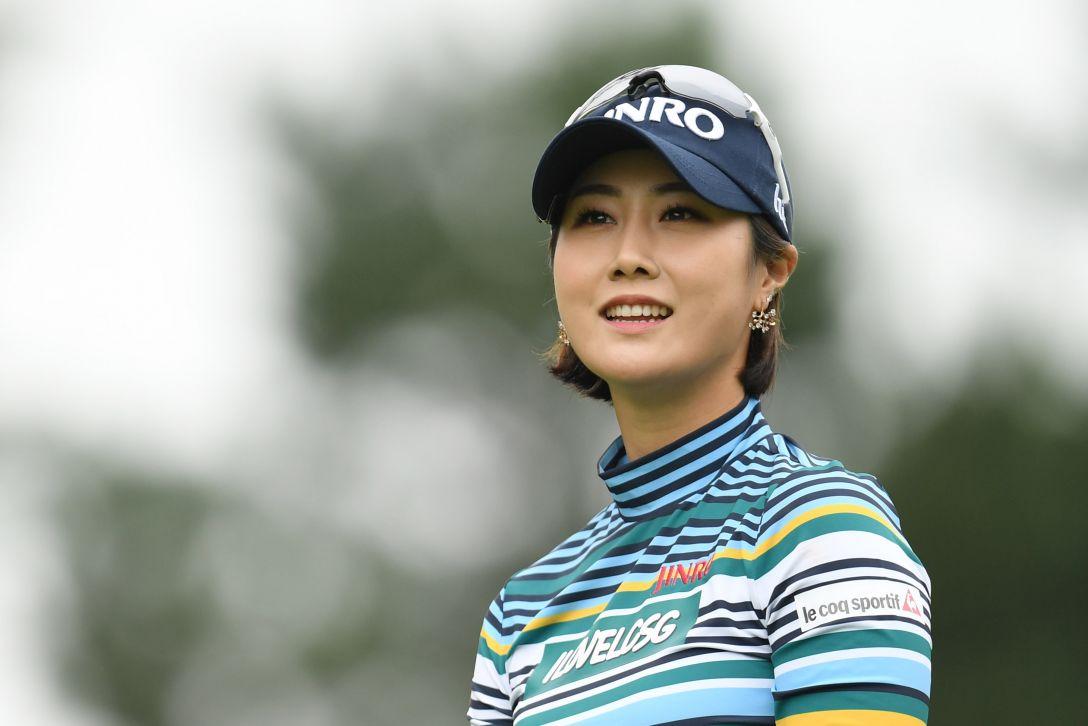日本女子オープンゴルフ選手権競技 1日目 キムハヌル <Photo:Atsushi Tomura/Getty Images>