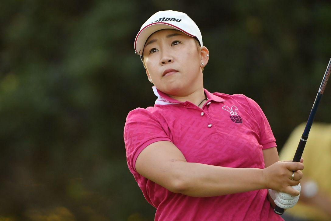 日本女子オープンゴルフ選手権競技 2日目 申ジエ <Photo:Atsushi Tomura/Getty Images>