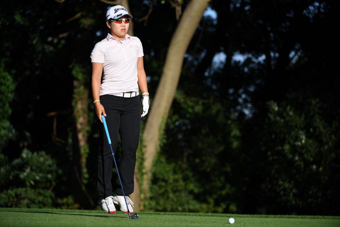 日本女子オープンゴルフ選手権競技 2日目 畑岡奈紗 <Photo:Atsushi Tomura/Getty Images>