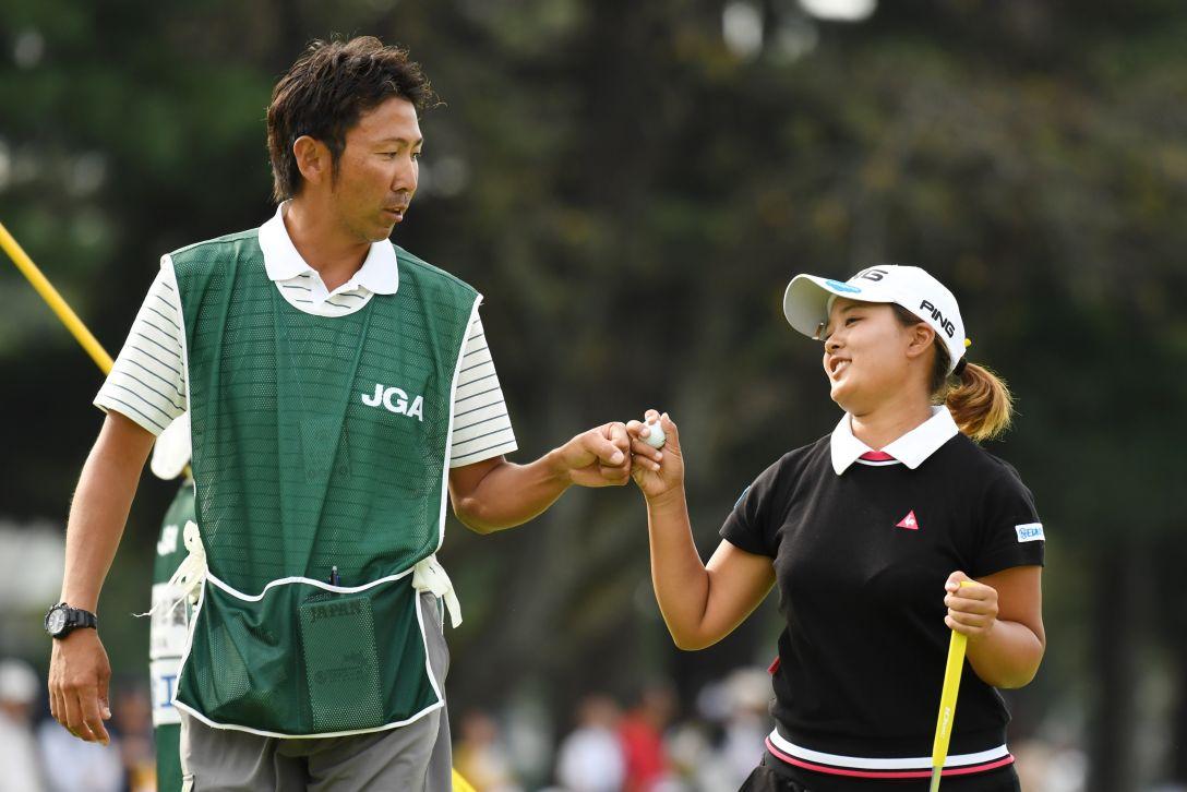 日本女子オープンゴルフ選手権競技 3日目 鈴木愛 <Photo:Atsushi Tomura/Getty Images>