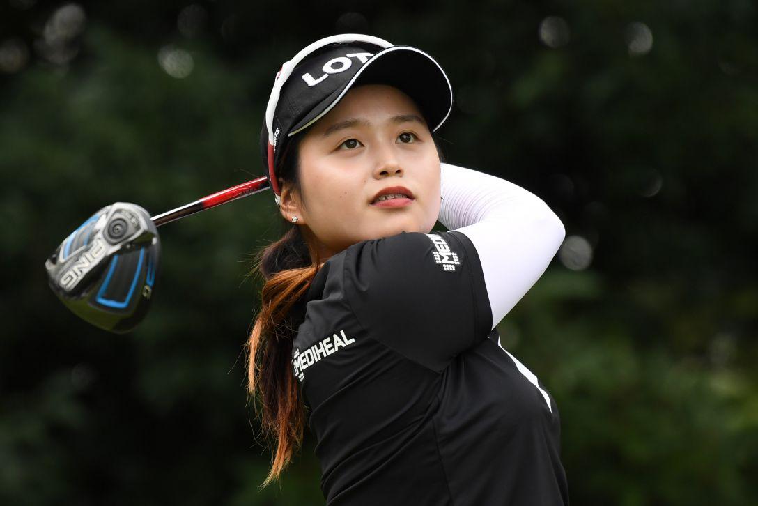 日本女子オープンゴルフ選手権競技 3日目 チェヘジン <Photo:Atsushi Tomura/Getty Images>
