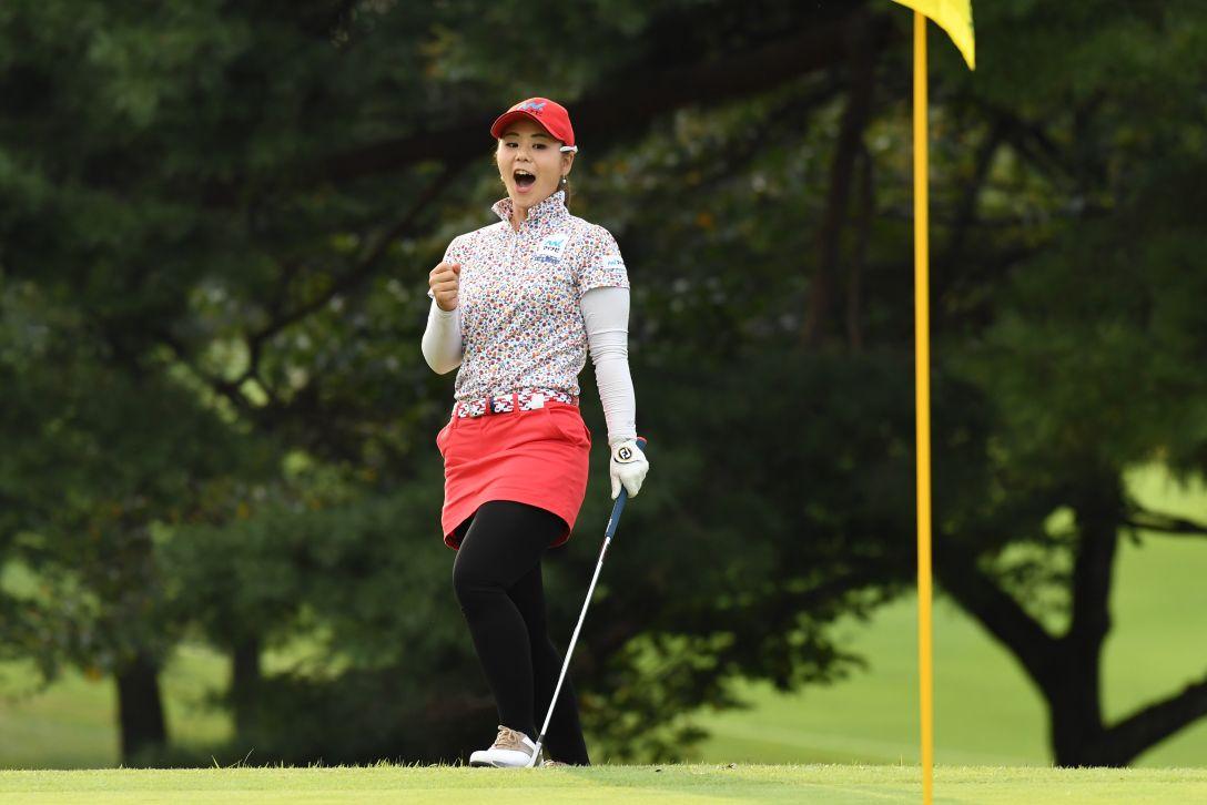 日本女子オープンゴルフ選手権競技 3日目 石川陽子 <Photo:Atsushi Tomura/Getty Images>
