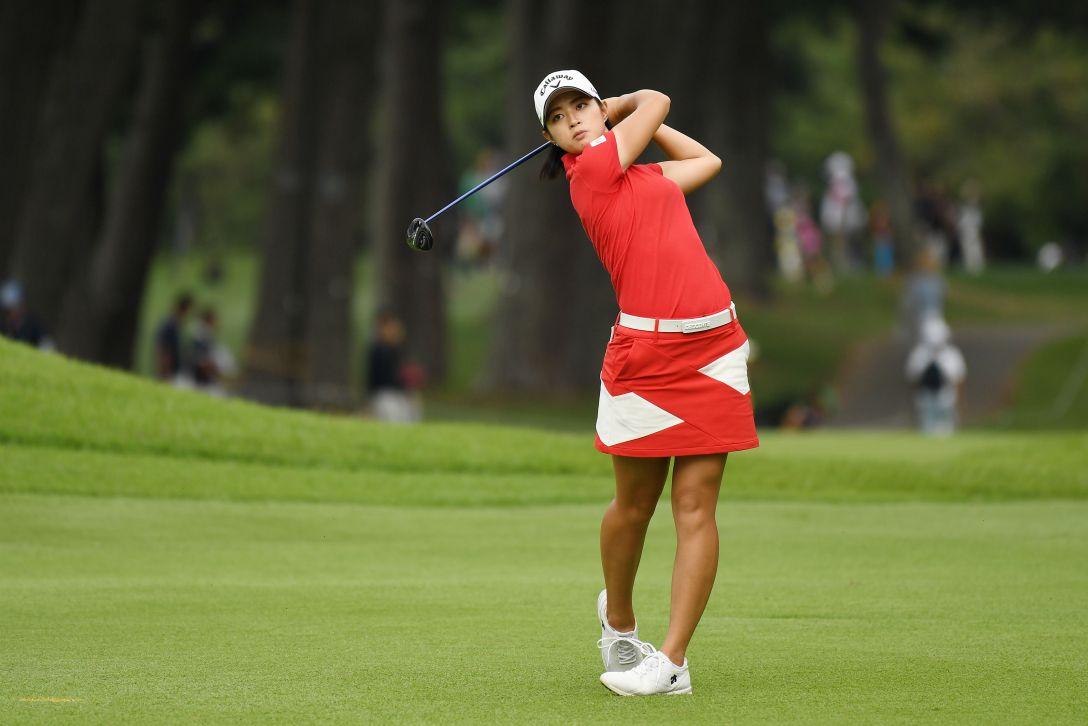日本女子オープンゴルフ選手権競技 最終日 柏原明日架 <Photo:Atsushi Tomura/Getty Images>