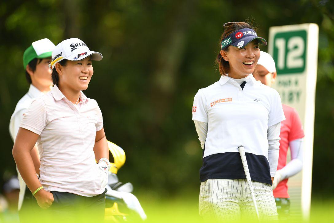 スタンレーレディスゴルフトーナメント 2日目 畑岡奈紗、テレサ・ルー <Photo:Atsushi Tomura/Getty Images>