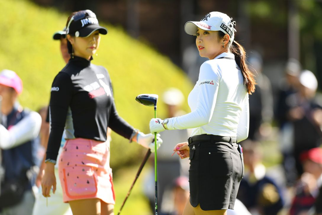 スタンレーレディスゴルフトーナメント 2日目 キムハヌル、イボミ <Photo:Atsushi Tomura/Getty Images>