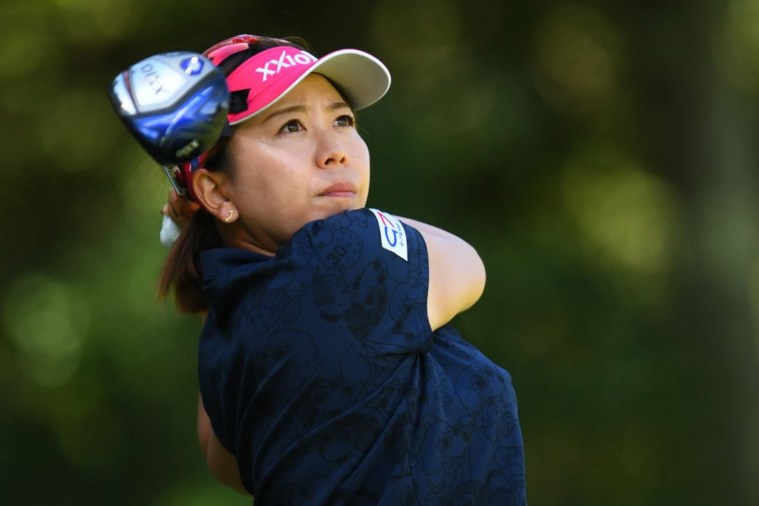 スタンレーレディスゴルフトーナメント 2日目 吉田弓美子 <Photo:Atsushi Tomura/Getty Images>