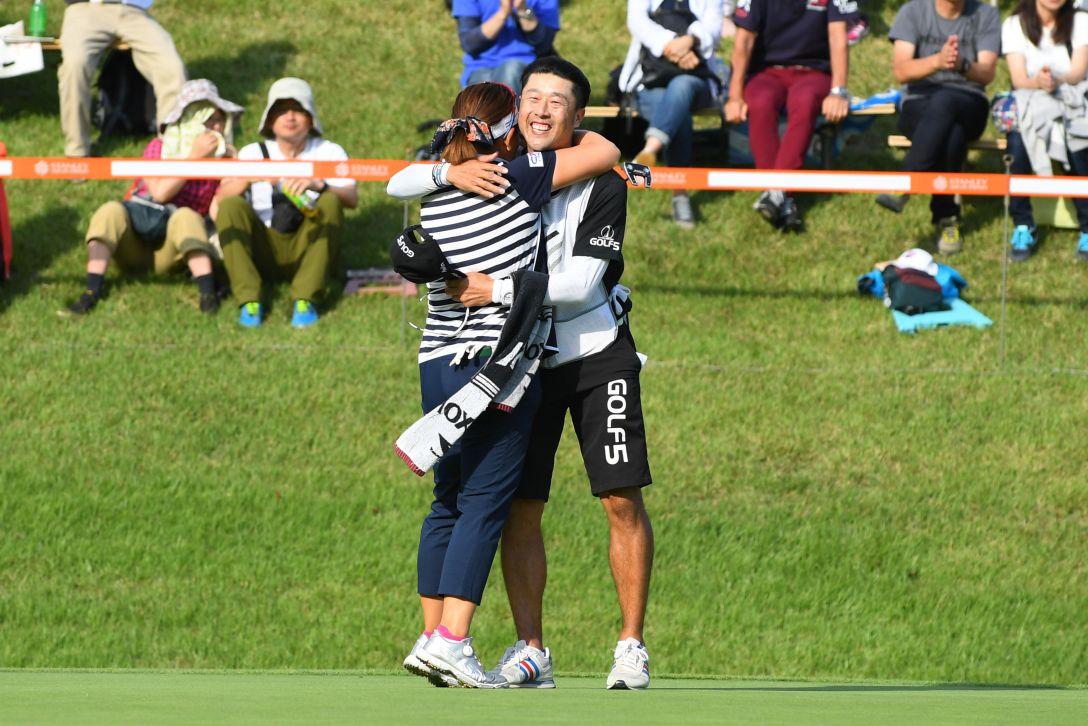 スタンレーレディスゴルフトーナメント 最終日 吉田弓美子 <Photo:Atsushi Tomura/Getty Images>