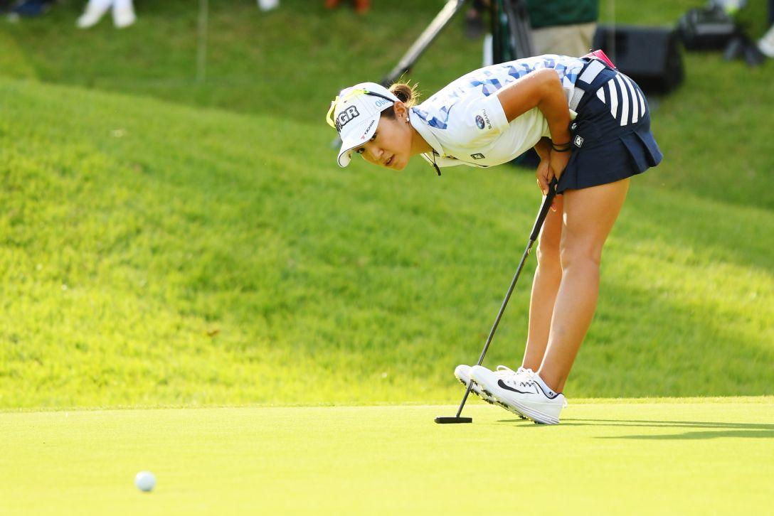 スタンレーレディスゴルフトーナメント 最終日 藤本麻子 <Photo:Atsushi Tomura/Getty Images>