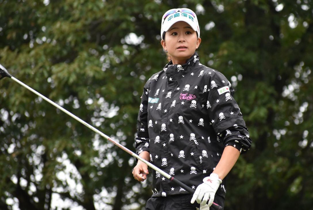 日台交流うどん県レディースゴルフトーナメント 1日目 クォ アイチェン