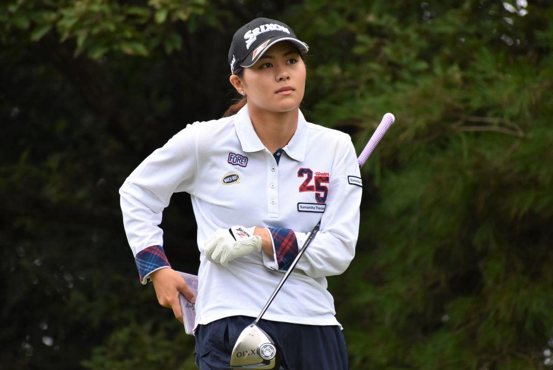 日台交流うどん県レディースゴルフトーナメント 1日目 新垣 比菜