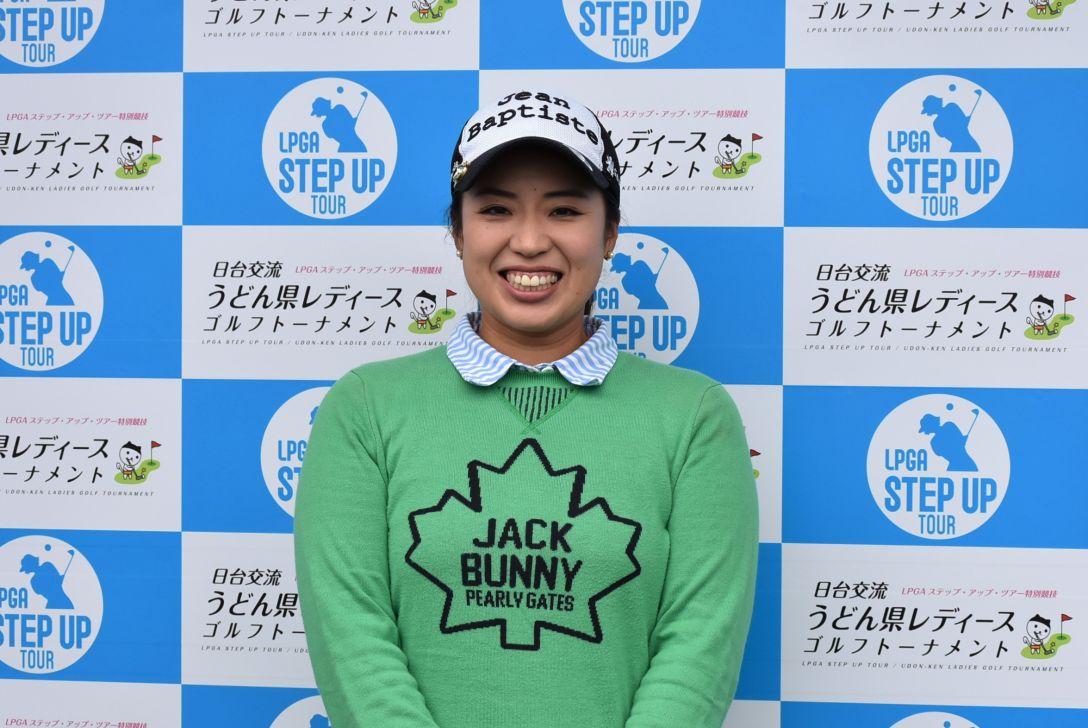 日台交流うどん県レディースゴルフトーナメント 1日目 東 葵