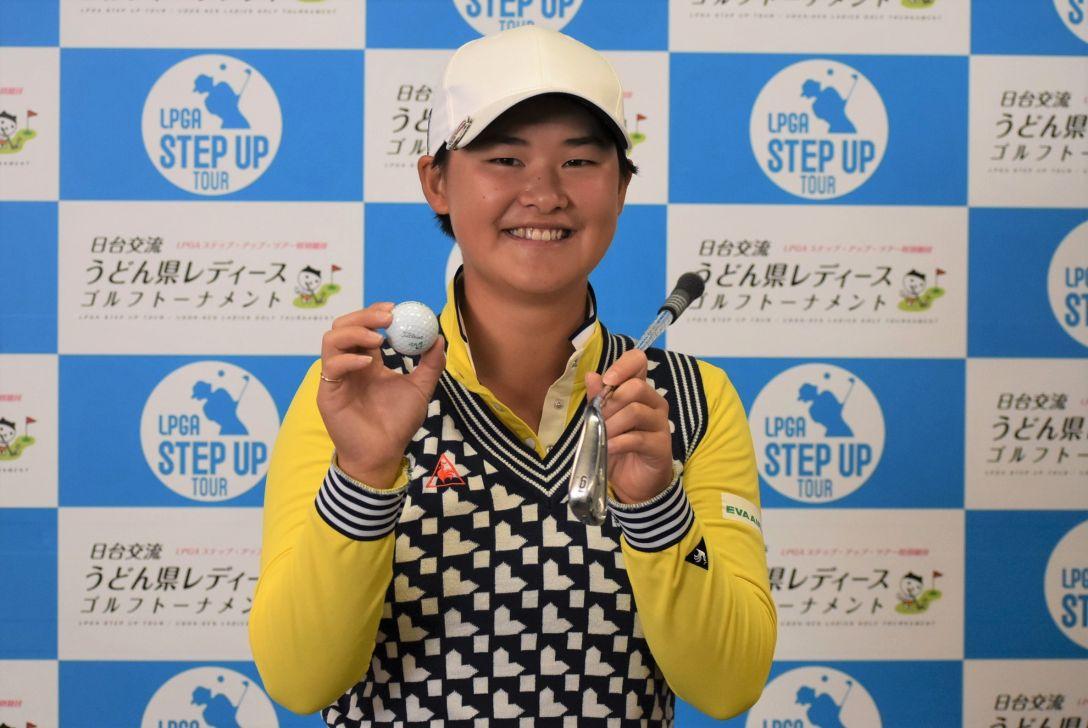 日台交流うどん県レディースゴルフトーナメント 2日目 ミン・リー