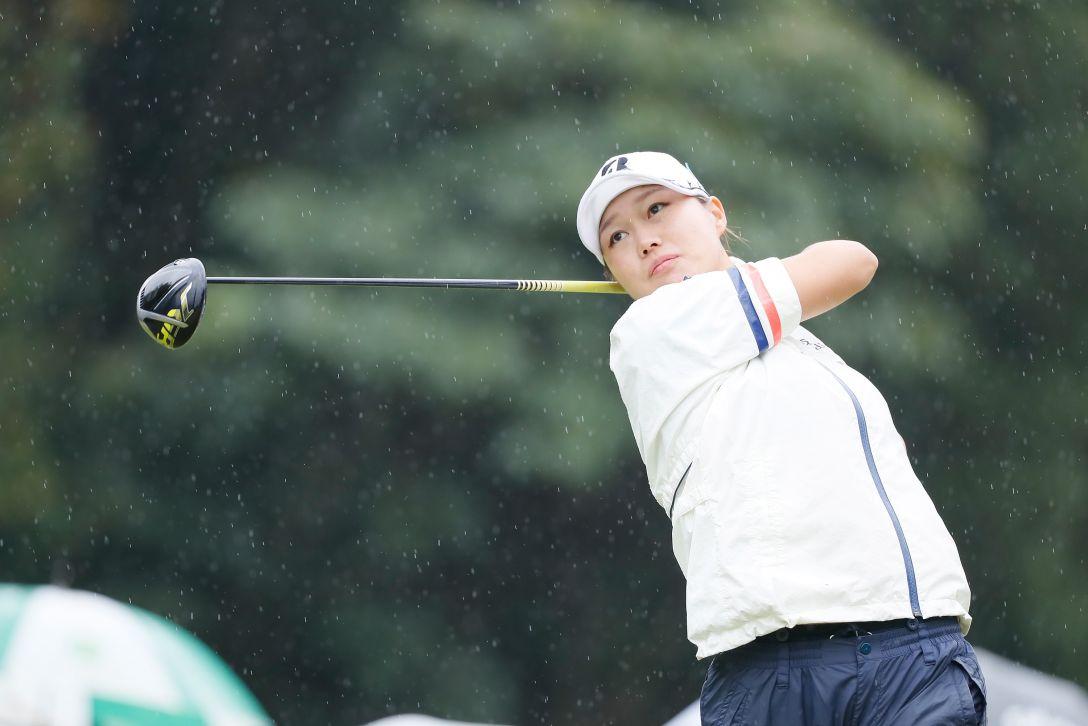 日台交流うどん県レディースゴルフトーナメント 最終日 福山 恵梨 <Photo:Ken Ishii/Getty Images>