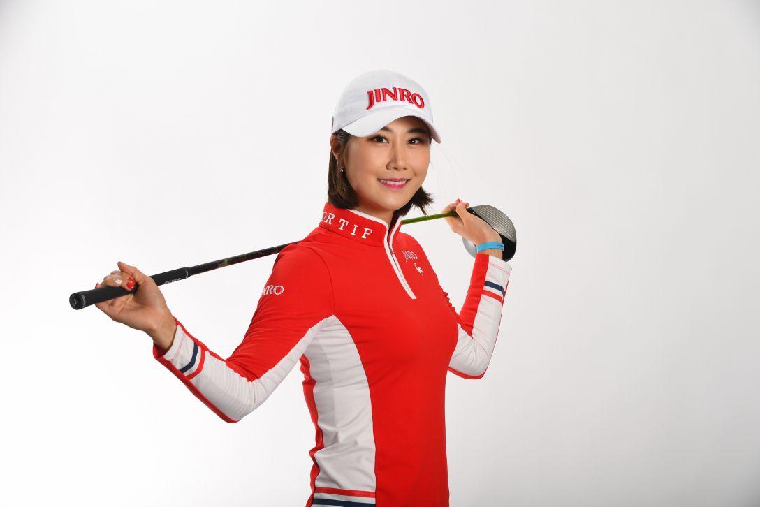 LPGAツアーチャンピオンシップリコーカップ 指定練習日 キム ハヌル <Photo:Atsushi Tomura/Getty Images>