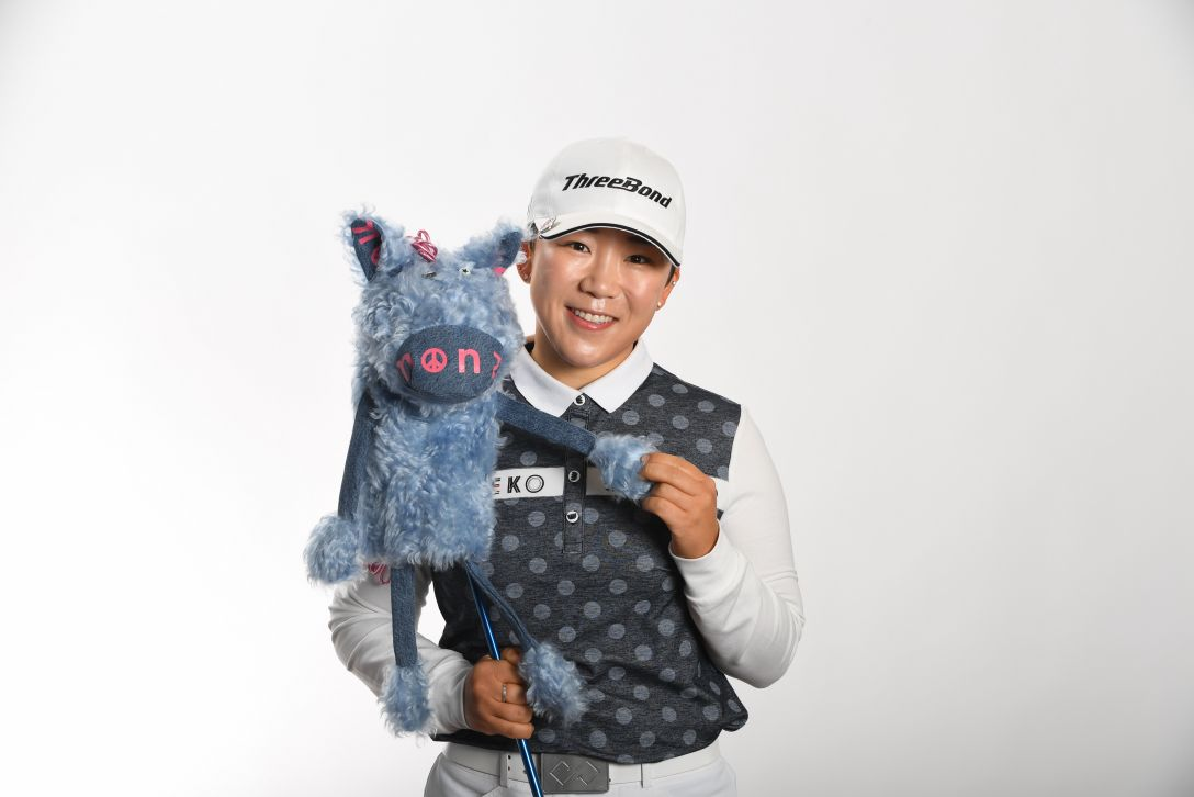 LPGA公式プロフィール写真 申ジエ<Photo:Atsushi Tomura/Getty Images>