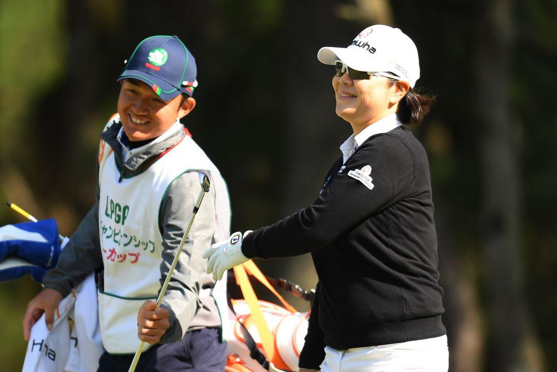 LPGAツアーチャンピオンシップリコーカップ 1日目 イミニョン <Photo:Atsushi Tomura/Getty Images>