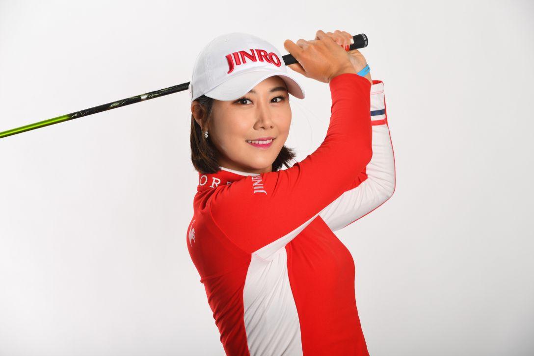 LPGA公式プロフィール写真 キムハヌル4<Photo:Atsushi Tomura/Getty Images>