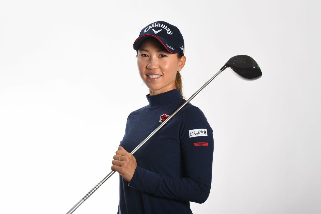 LPGA公式プロフィール写真 上田桃子5<Photo:Atsushi Tomura/Getty Images>