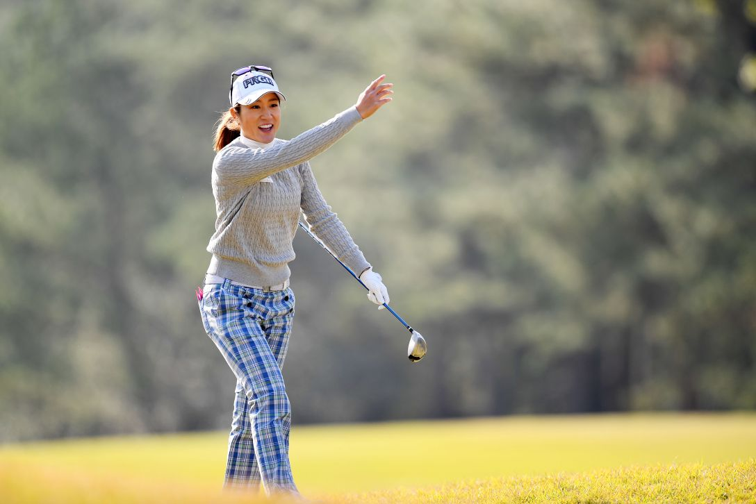 LPGAツアーチャンピオンシップリコーカップ 1日目 藤本麻子 <Photo:Atsushi Tomura/Getty Images>
