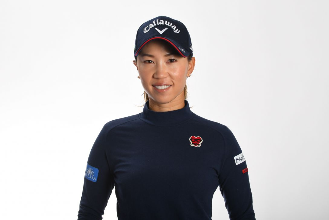 LPGA公式プロフィール写真 上田桃子3<Photo:Atsushi Tomura/Getty Images>