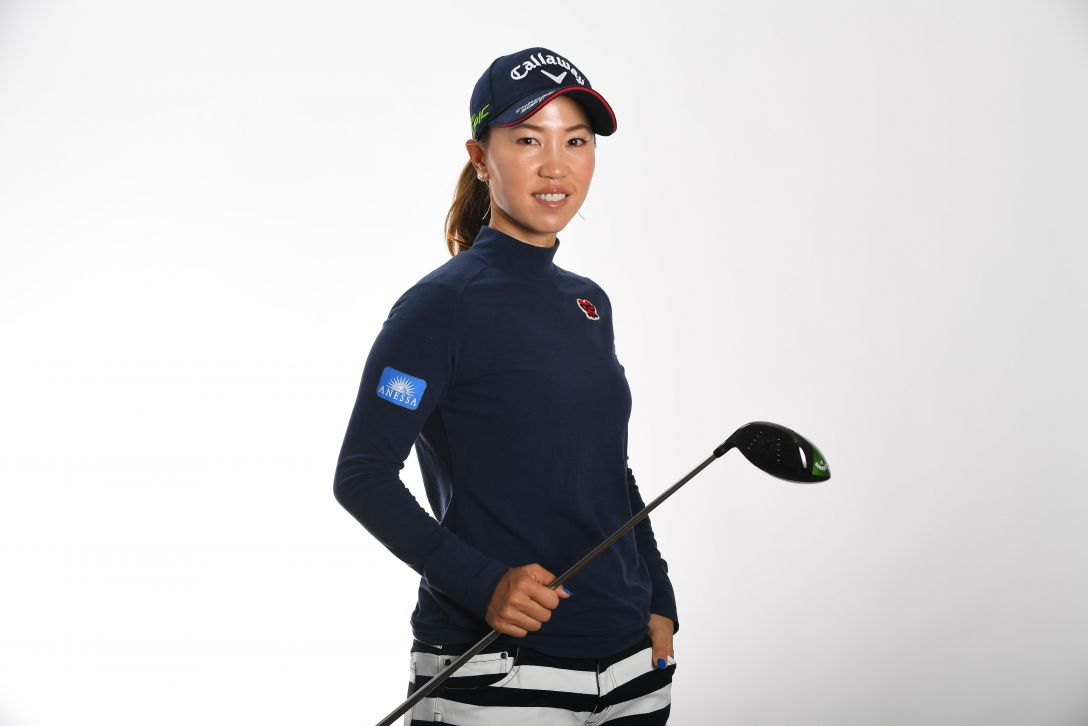 LPGA公式プロフィール写真 上田桃子7<Photo:Atsushi Tomura/Getty Images>