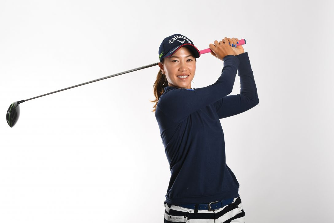 LPGA公式プロフィール写真 上田桃子9<Photo:Atsushi Tomura/Getty Images>