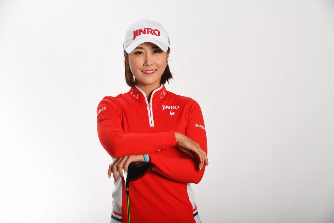 LPGA公式プロフィール写真 キムハヌル5<Photo:Atsushi Tomura/Getty Images>