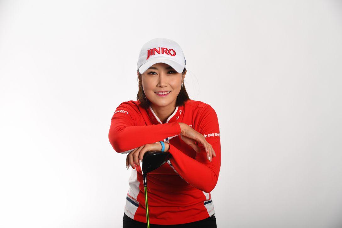 LPGA公式プロフィール写真 キムハヌル6<Photo:Atsushi Tomura/Getty Images>