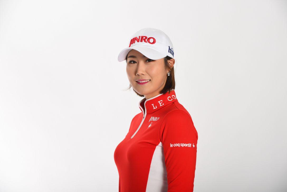 LPGA公式プロフィール写真 キムハヌル2<Photo:Atsushi Tomura/Getty Images>