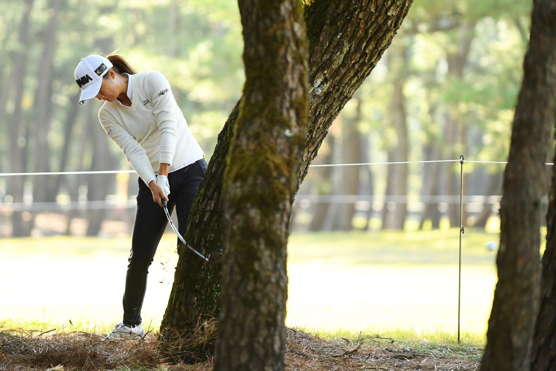 LPGAツアーチャンピオンシップリコーカップ 1日目 森田遥 <Photo:Atsushi Tomura/Getty Images>