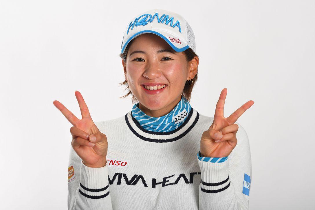 LPGA公式プロフィール写真 永井花奈1<Photo:Atsushi Tomura/Getty Images>