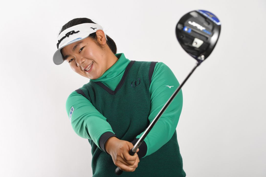 LPGA公式プロフィール写真 川岸史果3<Photo:Atsushi Tomura/Getty Images>