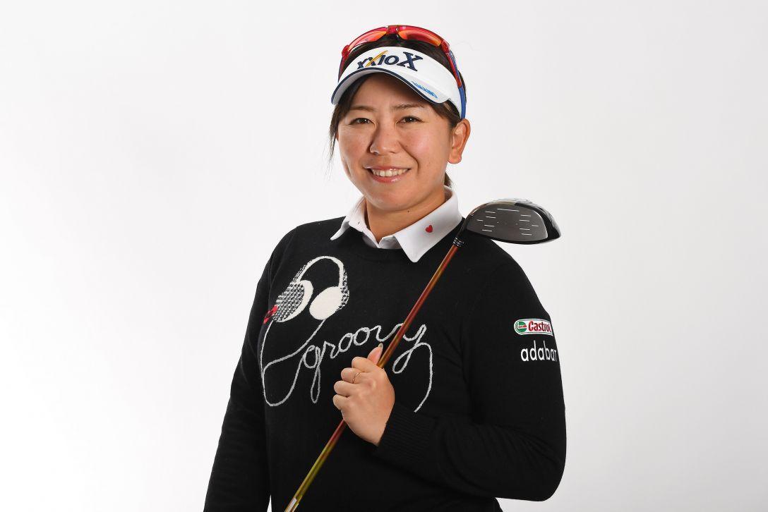 LPGA公式プロフィール写真 吉田弓美子2<Photo:Atsushi Tomura/Getty Images>