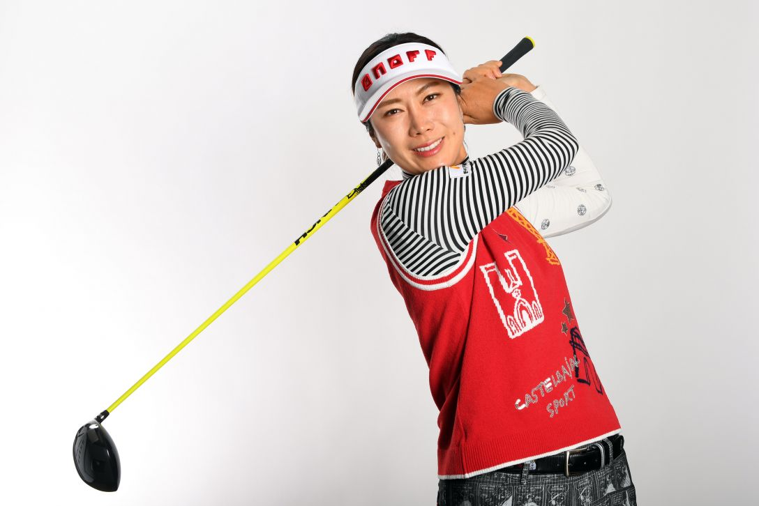 LPGA公式プロフィール写真 李知姫3<Photo:Atsushi Tomura/Getty Images>