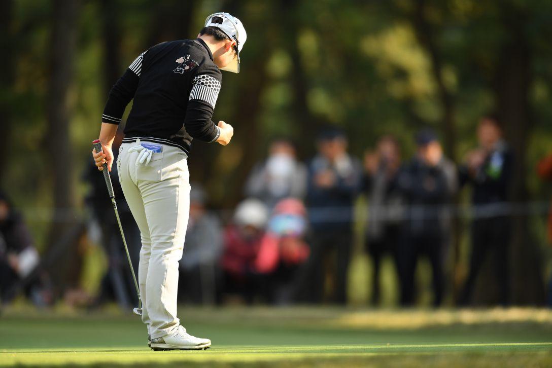 LPGAツアーチャンピオンシップリコーカップ 2日目 申ジエ <Photo:Atsushi Tomura/Getty Images>