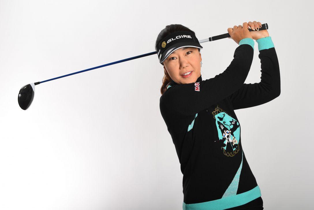 LPGA公式プロフィール写真 姜秀衍1<Photo:Atsushi Tomura/Getty Images>