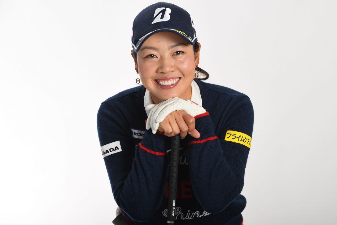 LPGA公式プロフィール写真 西山ゆかり3<Photo:Atsushi Tomura/Getty Images>