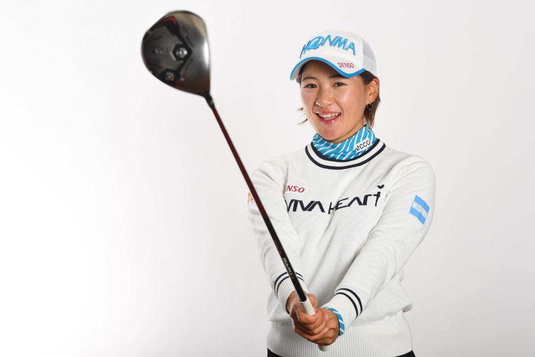 LPGA公式プロフィール写真 永井花奈5<Photo:Atsushi Tomura/Getty Images>