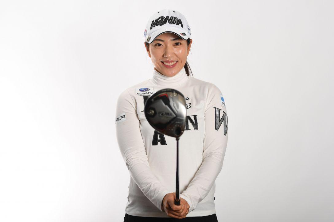 LPGA公式プロフィール写真 笠りつ子3<Photo:Atsushi Tomura/Getty Images>
