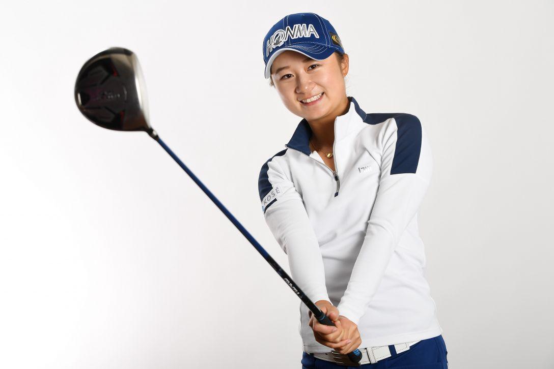 LPGA公式プロフィール写真 森田遥3<Photo:Atsushi Tomura/Getty Images>