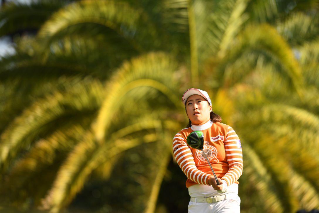 LPGAツアーチャンピオンシップリコーカップ 2日目 キムヘリム <Photo:Atsushi Tomura/Getty Images>