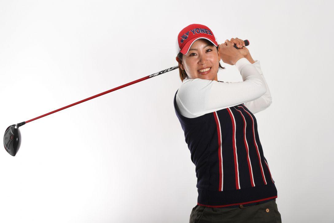 LPGA公式プロフィール写真 若林舞衣子3<Photo:Atsushi Tomura/Getty Images>