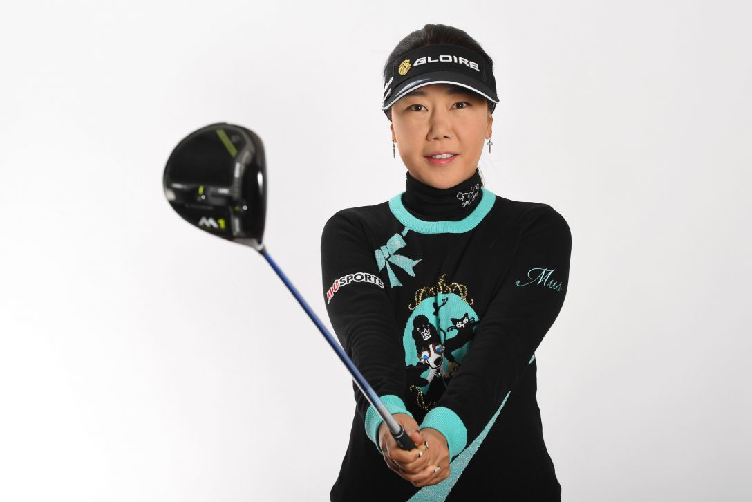 LPGA公式プロフィール写真 姜秀衍3<Photo:Atsushi Tomura/Getty Images>