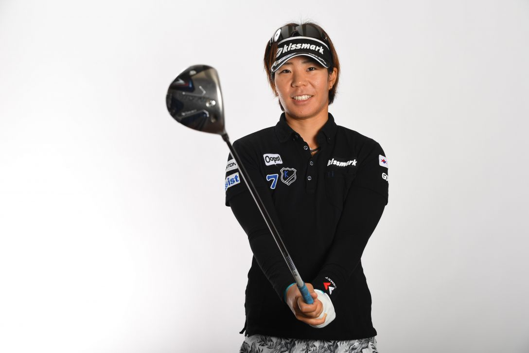 LPGA公式プロフィール写真 穴井詩1<Photo:Atsushi Tomura/Getty Images>