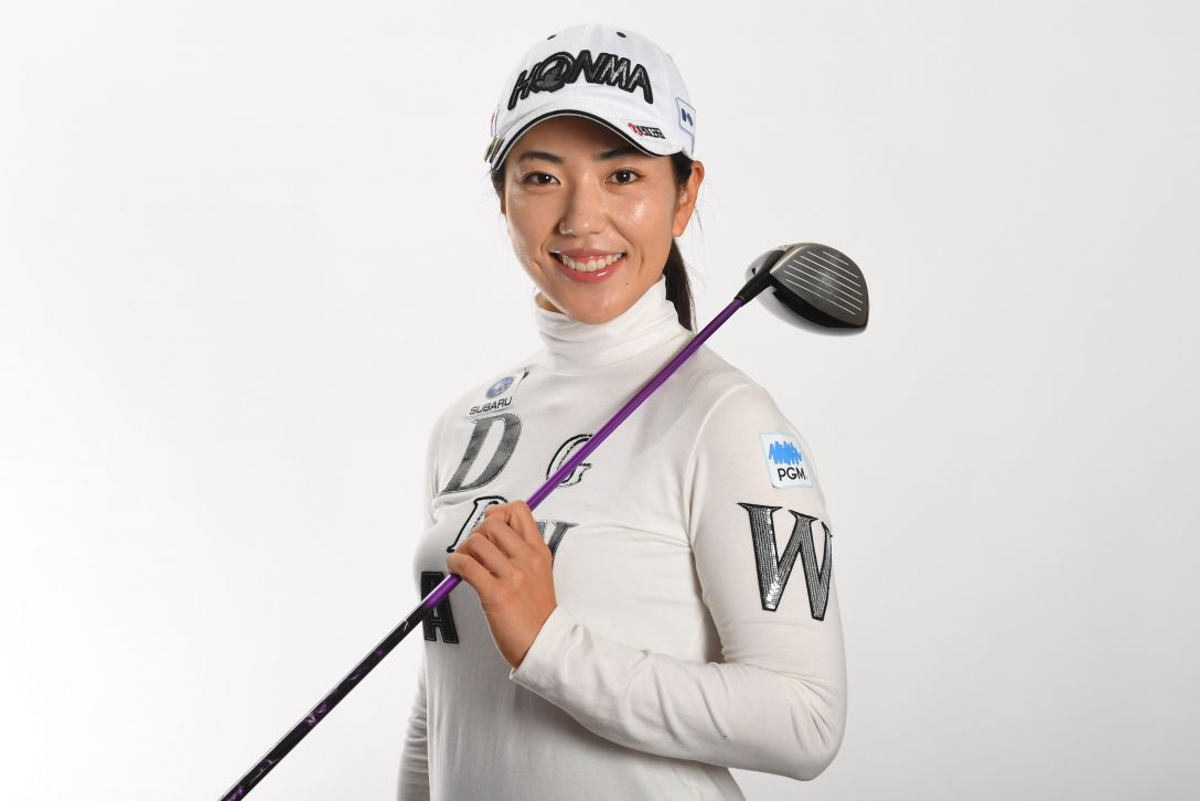 LPGA公式プロフィール写真 笠りつ子2<Photo:Atsushi Tomura/Getty Images>