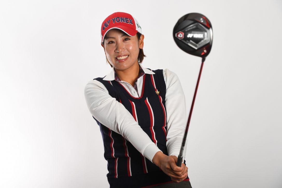 LPGA公式プロフィール写真 若林舞衣子4<Photo:Atsushi Tomura/Getty Images>