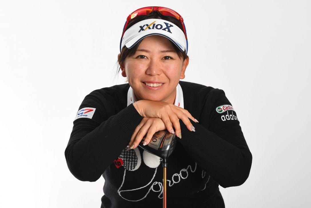 LPGA公式プロフィール写真 吉田弓美子4<Photo:Atsushi Tomura/Getty Images>