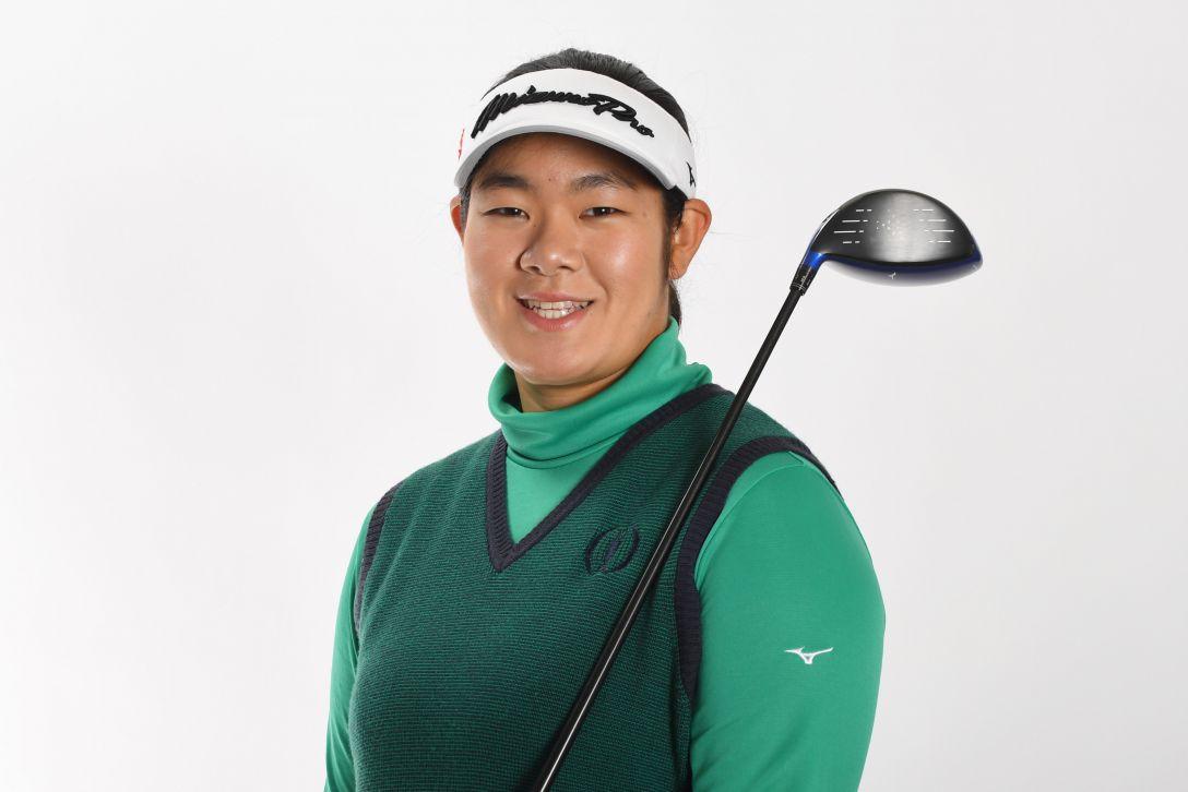 LPGA公式プロフィール写真 川岸史果2<Photo:Atsushi Tomura/Getty Images>